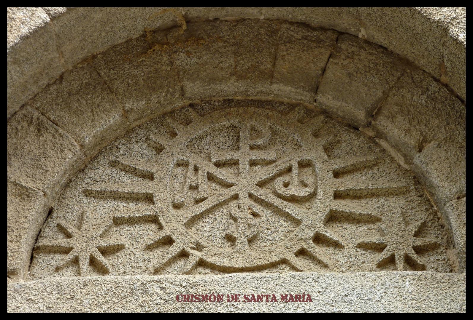 DARNIUS(4) crismón de santa maría