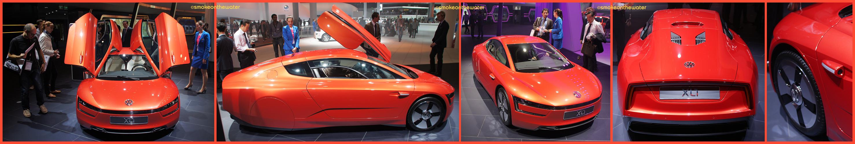 Das 1-Liter-Auto VW XL1 ist in Serie gegangen