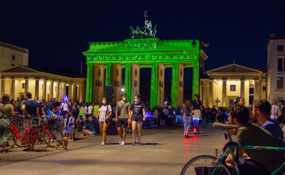 Das 17. FESTIVAL OF LIGHTS in Berlin, vom 3. bis 12. September.