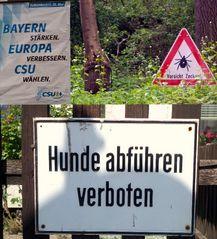 Das 2. woran sich ein Norddeutscher gewöhnen muss, :)