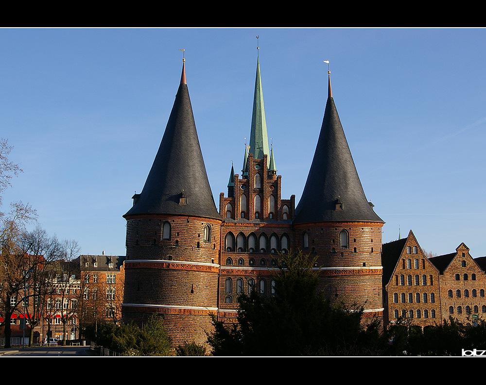 - das 3-Turm-Holstentor -