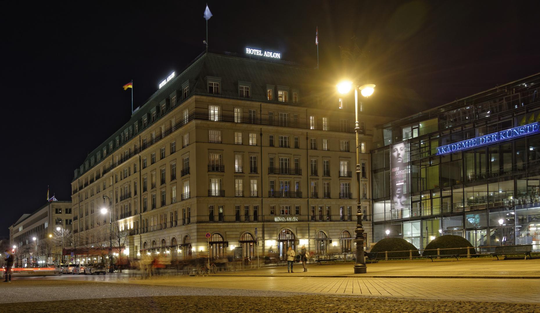 Das Adlon in Berlin