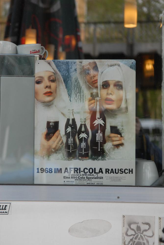Das Afri-Cola Plakat
