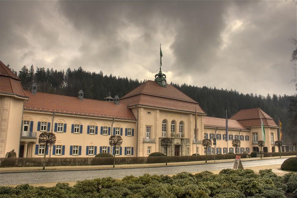Das Albert Bad in Bad Elster