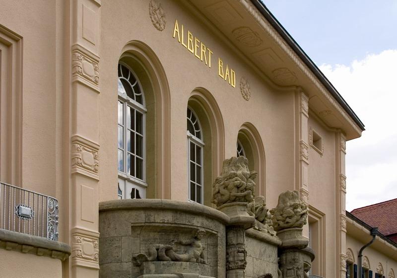 Das Albertbad in Bad Elster