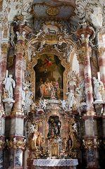 Das Altarbild der Wieskirche