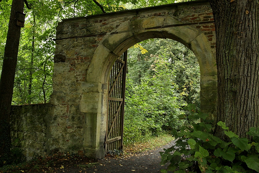 Das alte Burgtor