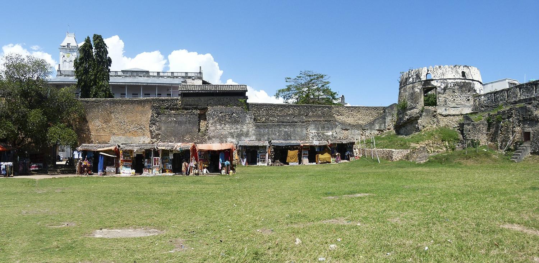 ...das alte Fort in Stone Town...