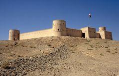 Das alte Fort in Sur