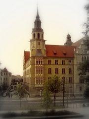 Das alte Gericht von Halle