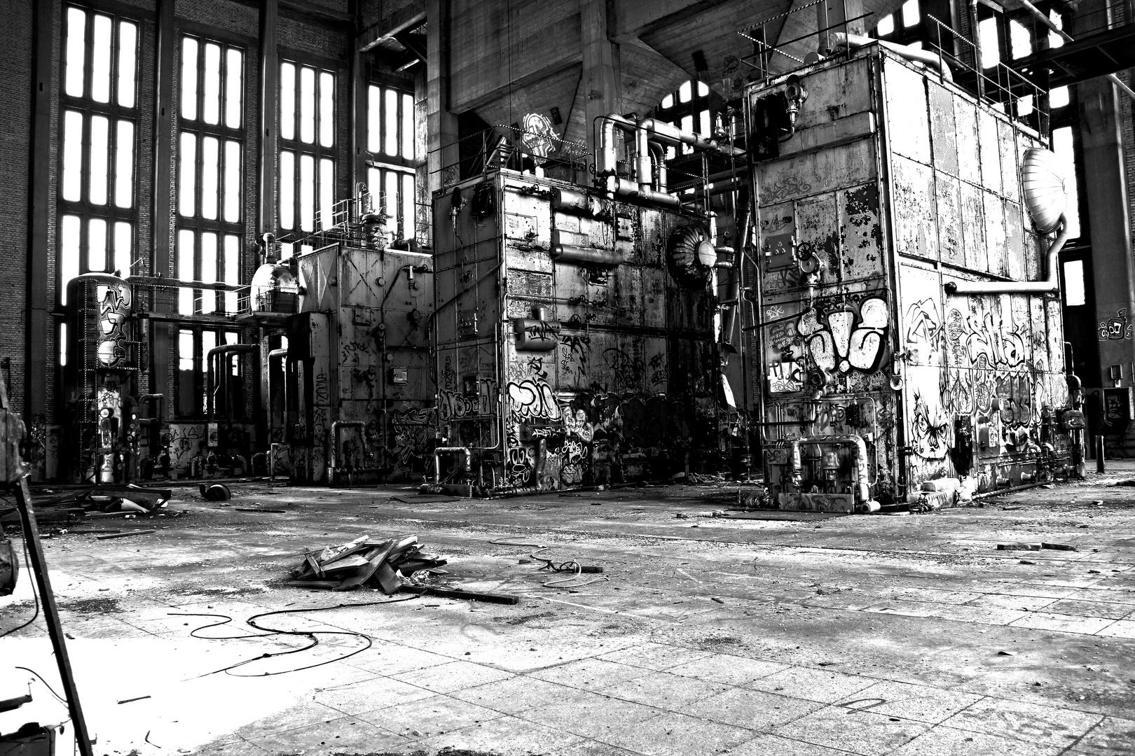 Das alte Heizkraftwerk der Bahn