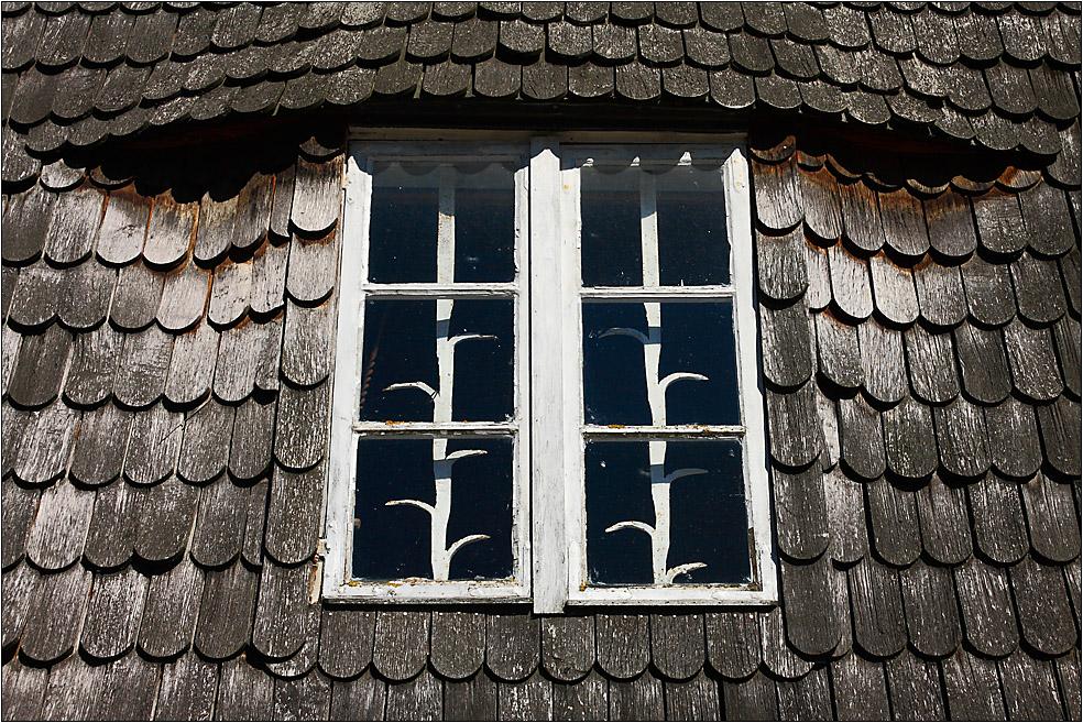 Das alte Mühlenfenster...