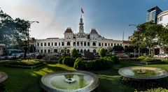 Das alte Rathaus der Stadt Saigon