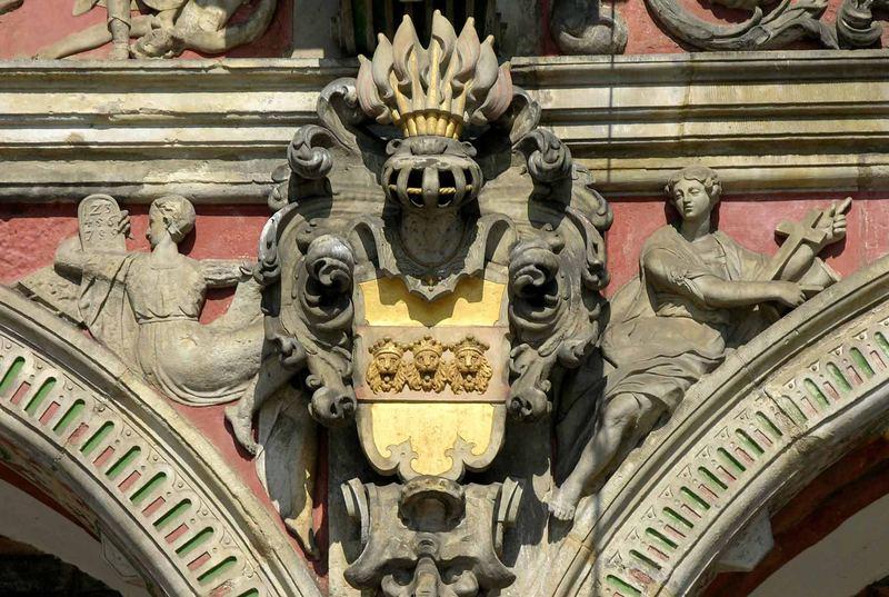 Das Alte Rathaus (Detail)