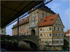 Das alte Rathaus in Bamberg ...