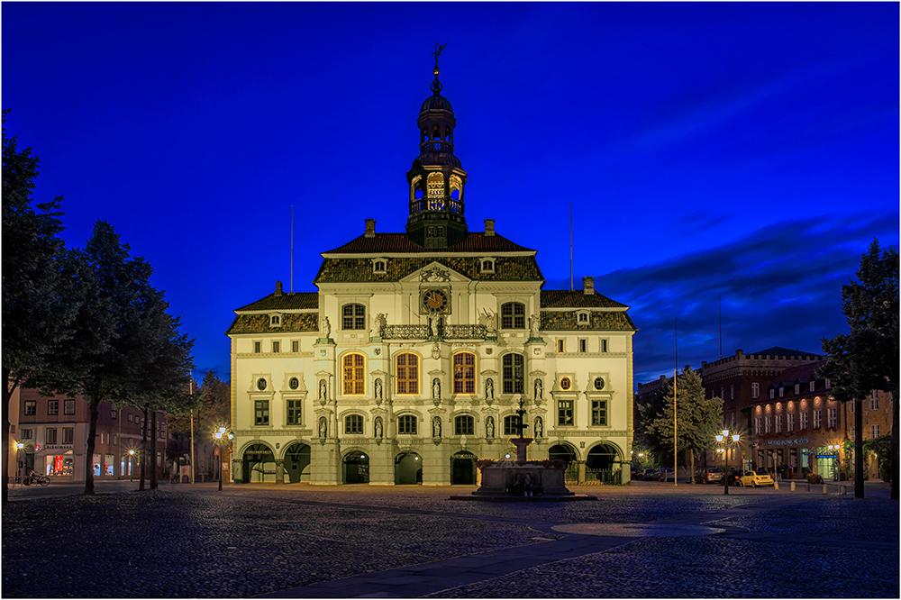 Das alte Rathaus in Lüneburg