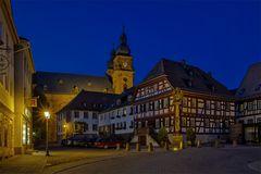 Das alte Rathaus von Amorbach