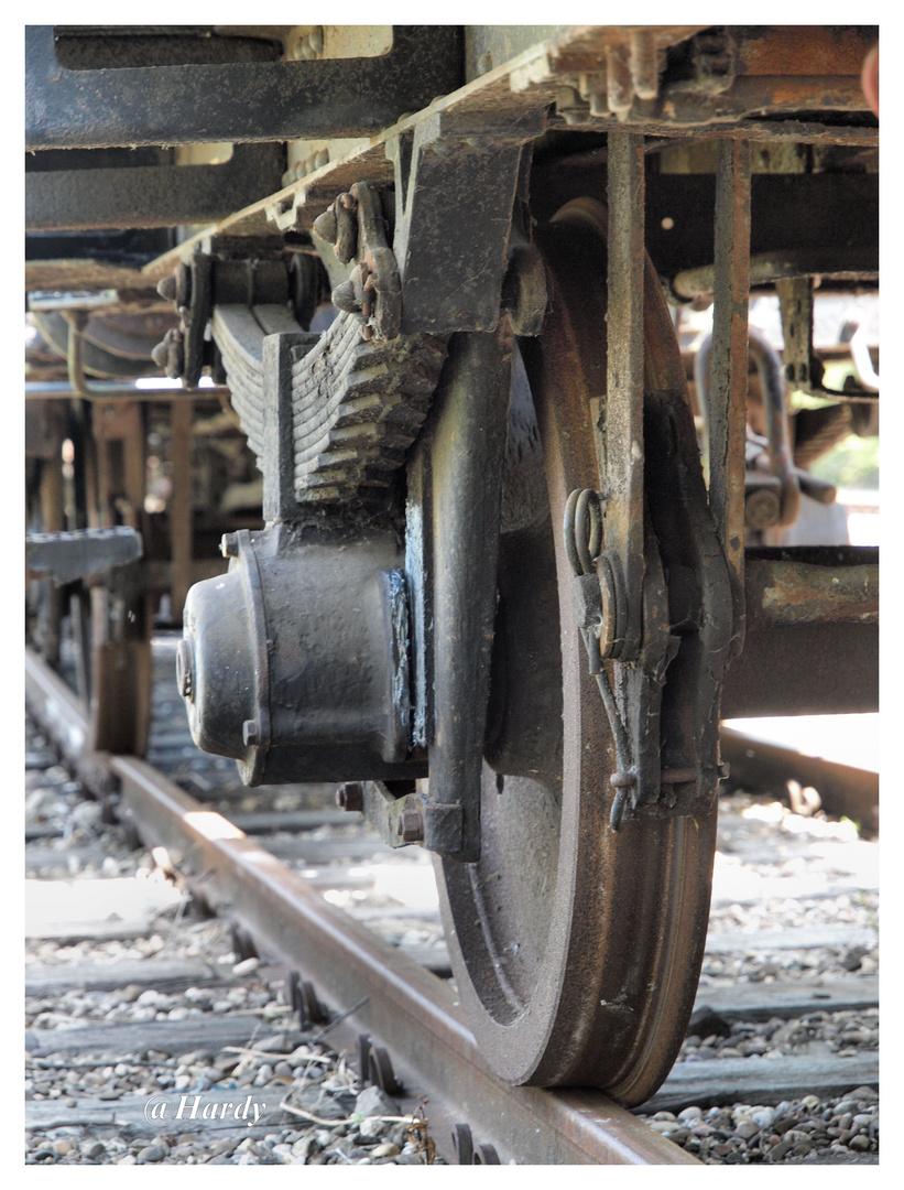 Das alte Schienennetz!!