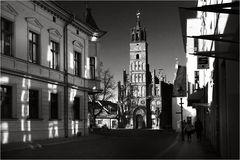 Das Altstädtische Rathaus ...