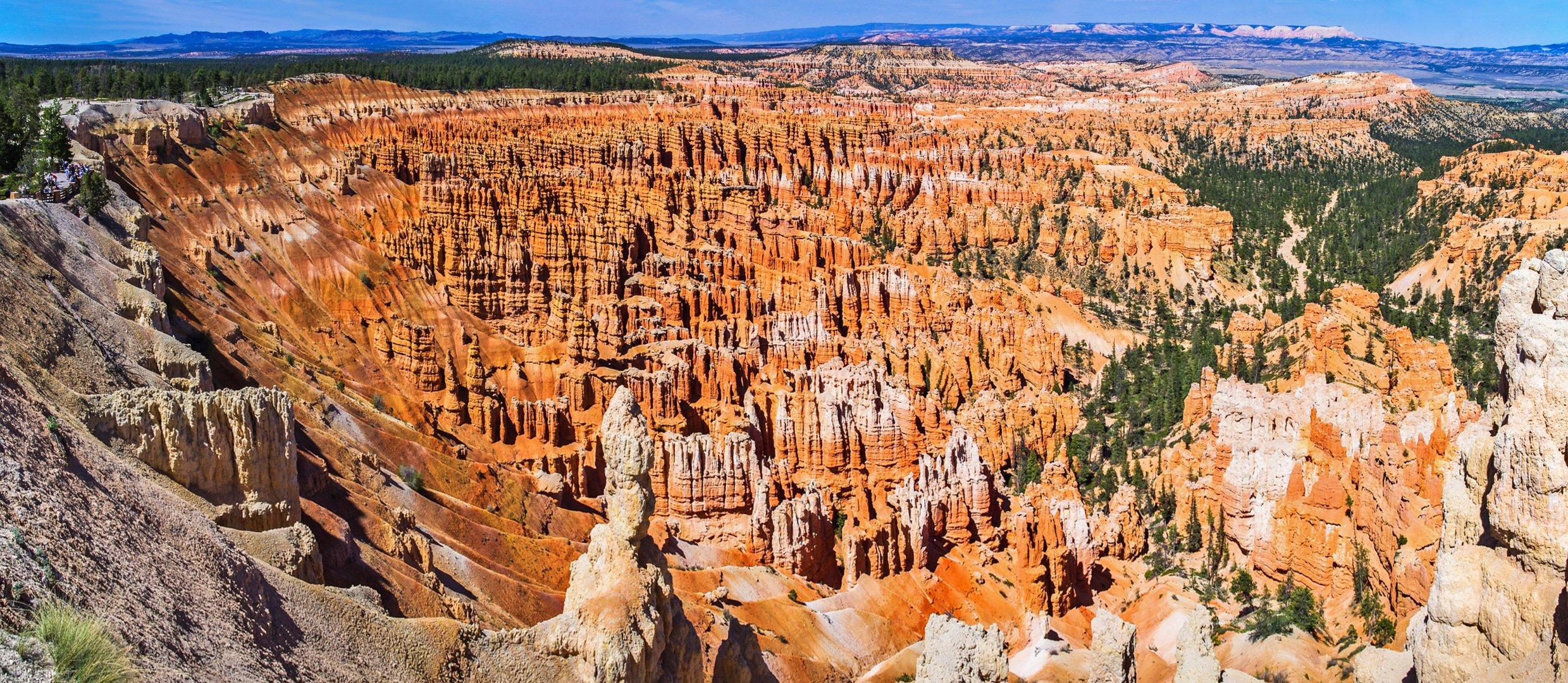 Das Amphitheater des Bryce-Canyon
