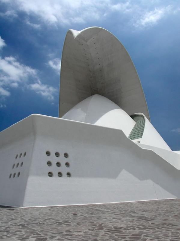 Das Auditorio de Tenerife (Auditorium von Teneriffa)