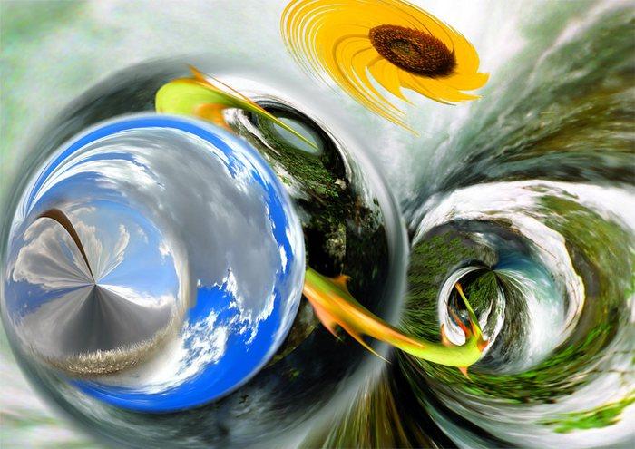 Das Auge des Taifun