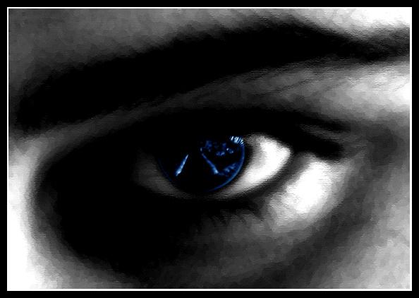 Das Auge sieht alles....