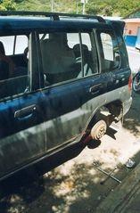Das Auto war eben nicht mehr ganz taufrisch...