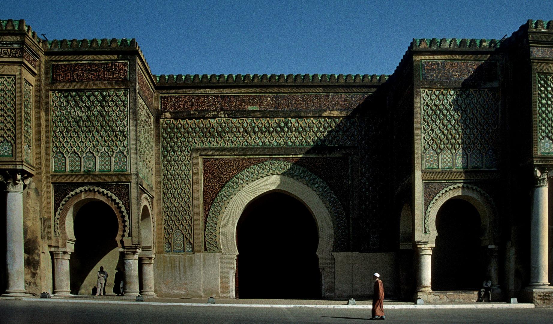 Das Bab el Mansour in Meknes