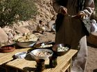 Das Beduinen-Mahl.