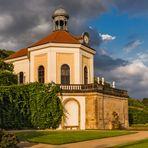 Das Belvedere, Wahrzeichen des Weinguts Schloss Wackerbarth
