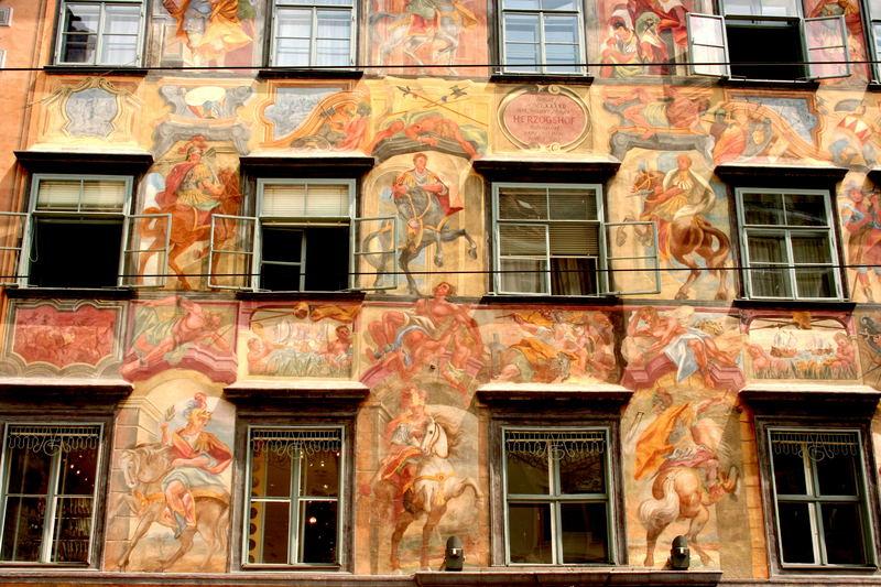Das bemalte Haus in Graz Foto & Bild