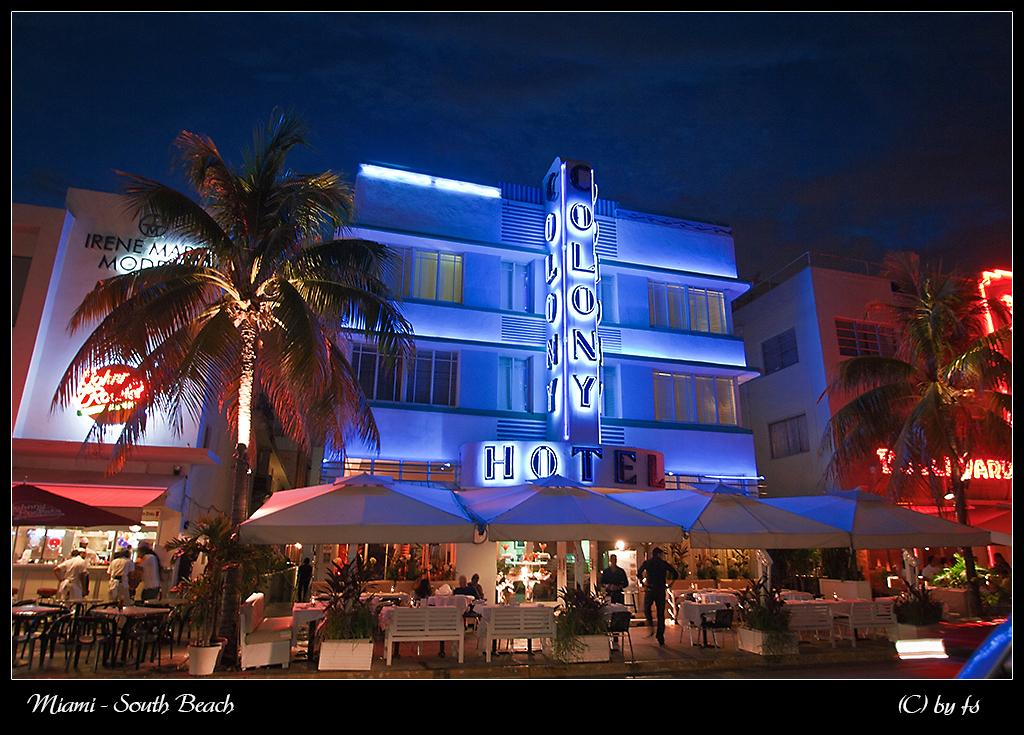 Das berühmte Colony Hotel