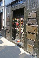 Das berühmteste Grab von Recoleta