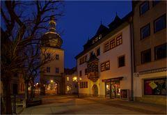 Das Blankenurger Stadttor in Saalfeld