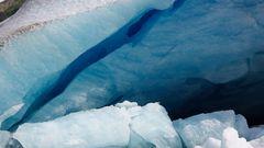 Das Blau der Gletscher