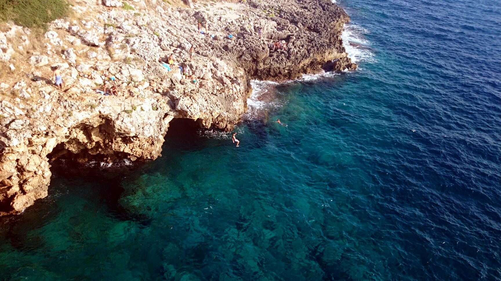 Das blaue Auge des Meeres