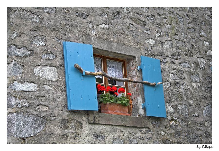 das blaue Fenster