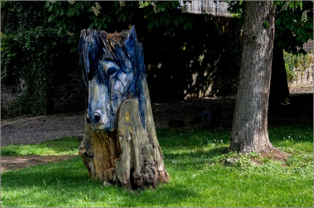 Das blaue Pferd von Laubach
