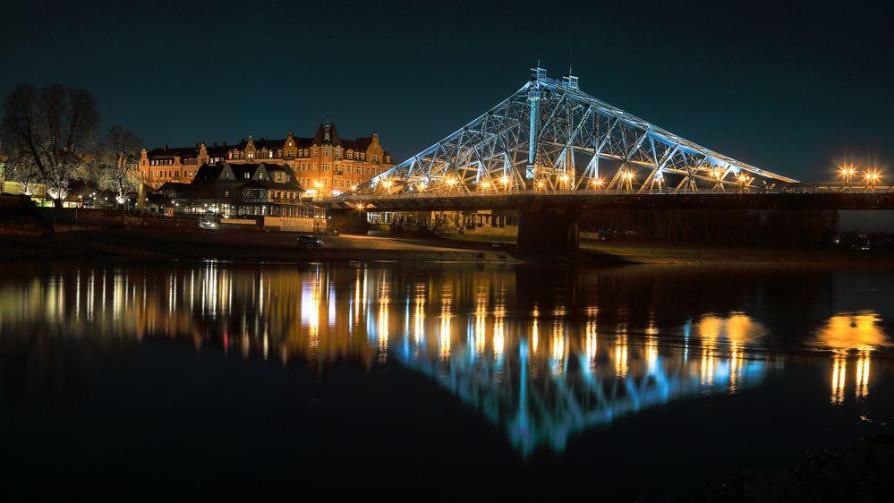 Das Blaue Wunder zu Dresden