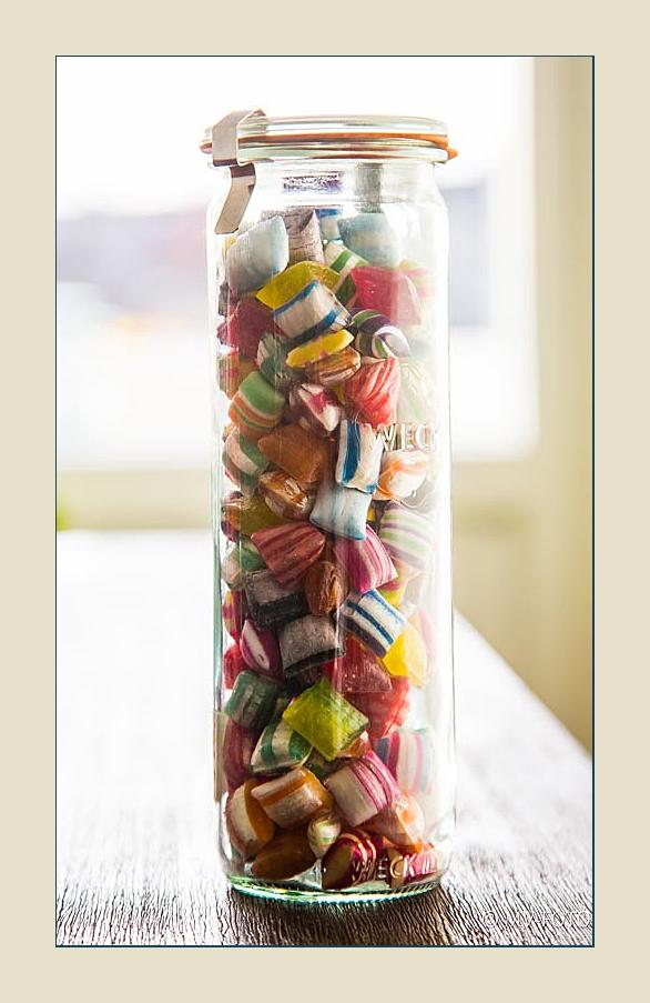 Das Bonbon-Glas