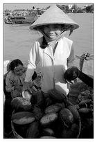 Das Boot der Wassermelonen - Chau Doc, Vietnam