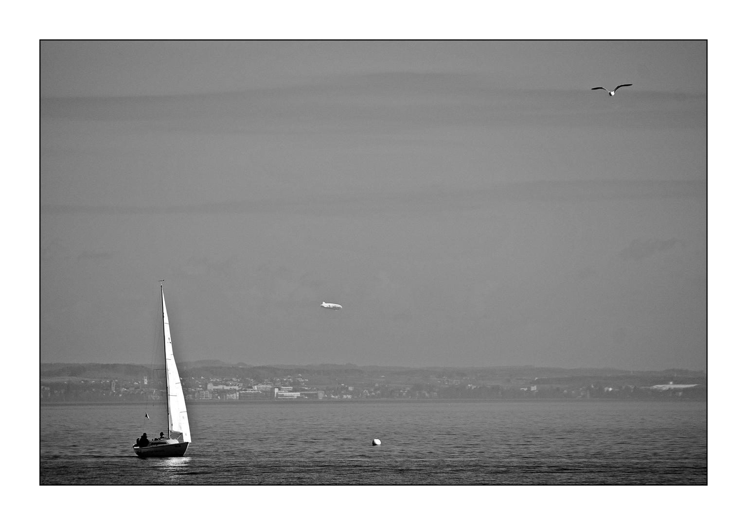 Das Boot, die Möwe und der Zeppelin