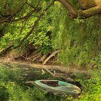 Das Boot im Silbersee