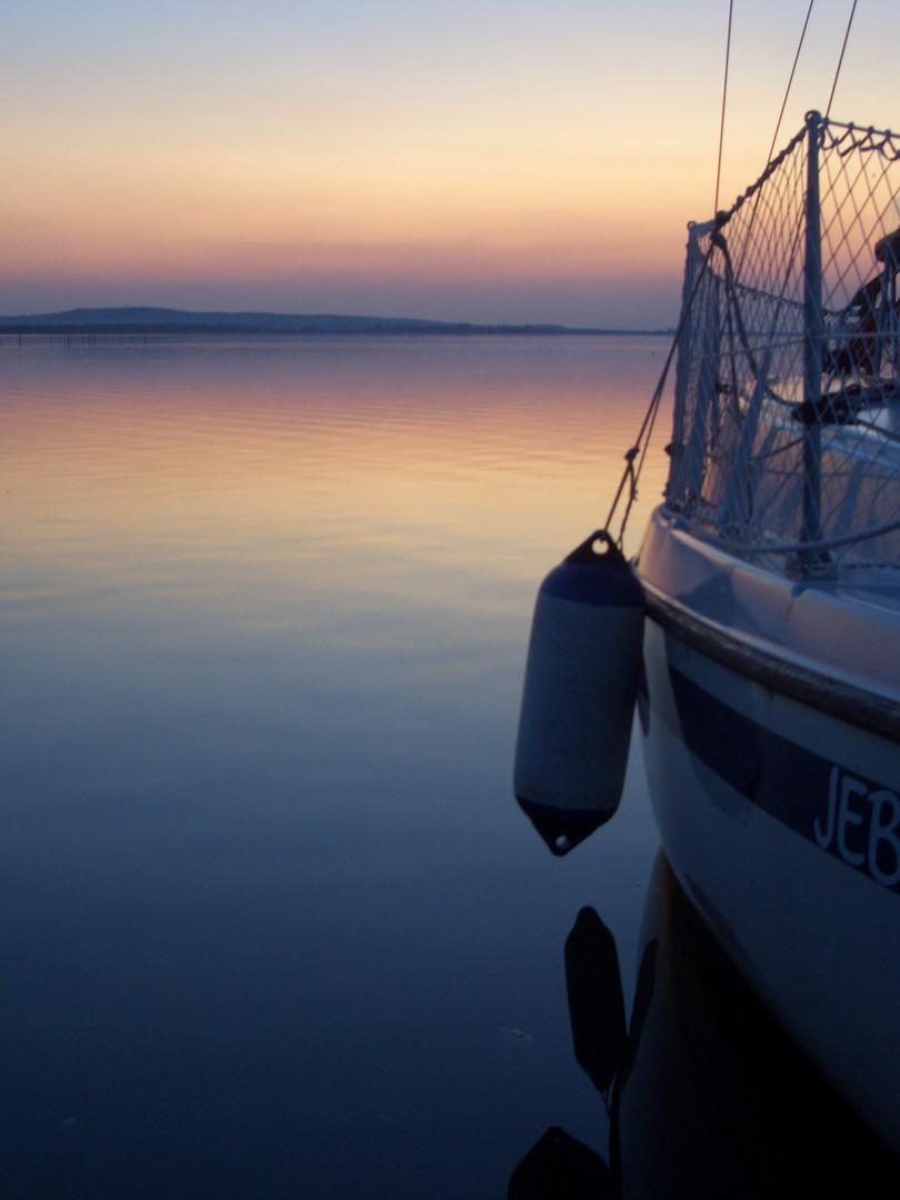Das Boot mit den Erinnerungen.