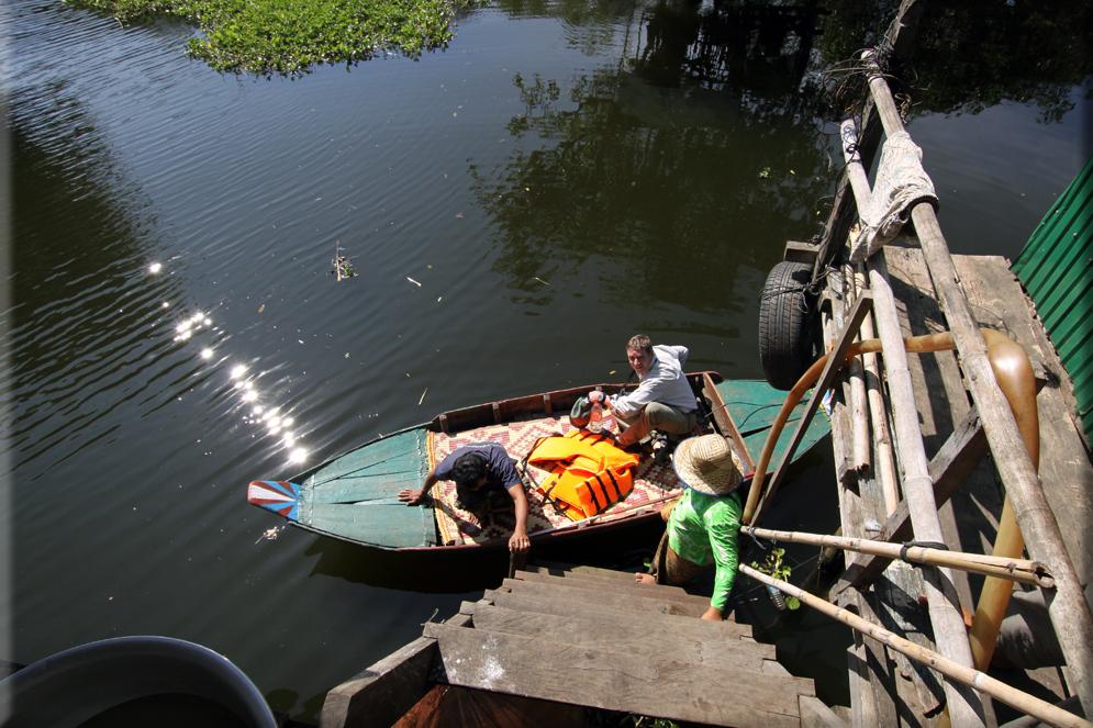 Das Boot- Tonle Sap/Cambodia