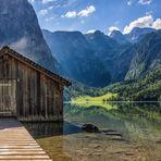 Das Bootshaus am Obersee