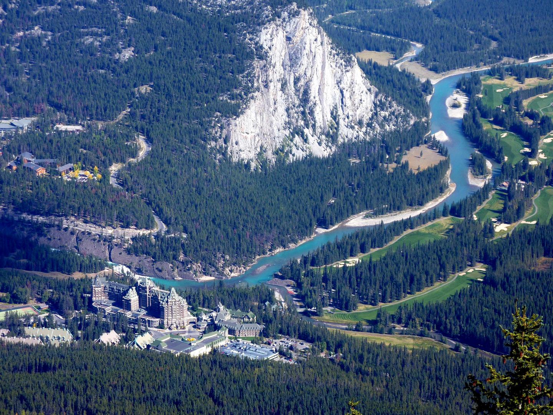 Das Bow River Vally