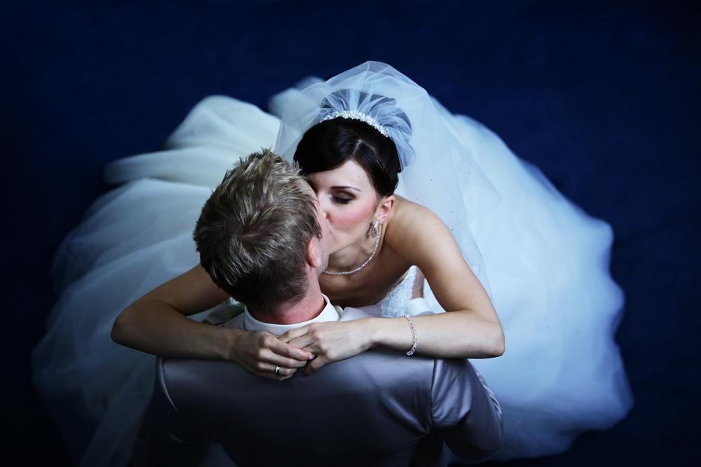Das Brautpaar.