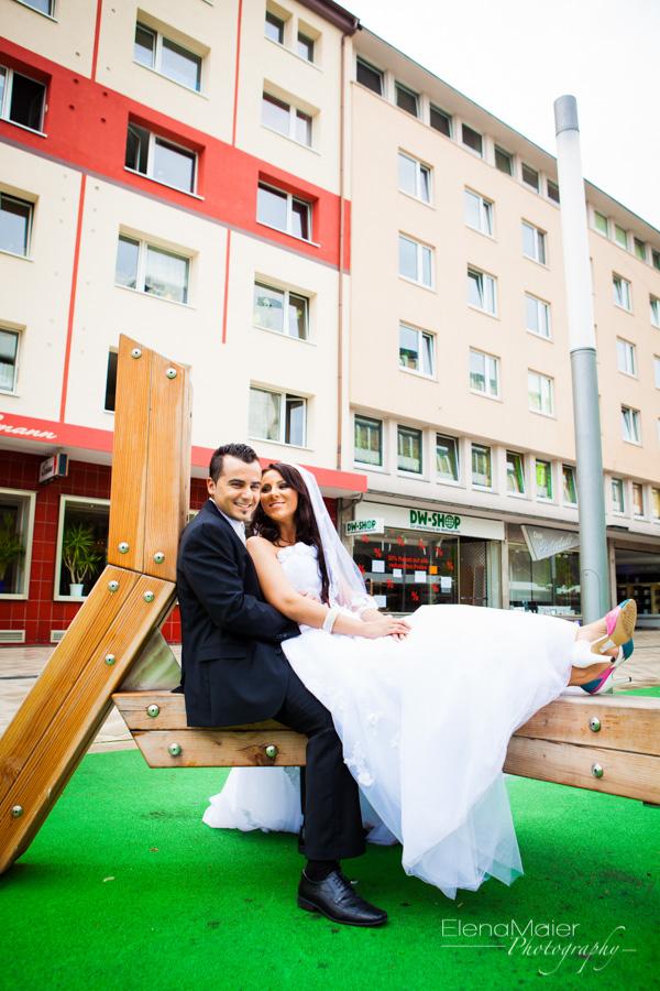 Das Brautpaar 4